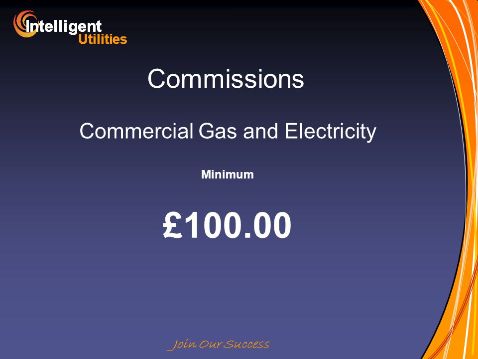Intelligent Utilities Intelligent Utilities Intelligent Utilities Intelligent Utilities Intelligent Utilities Intelligent Utilities Intelligent Utilities Intelligent Utilities Intelligent Join Our Success Commissions Commercial Gas and Electricity Minimum £100.00