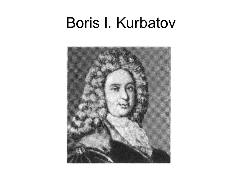 Boris I. Kurbatov