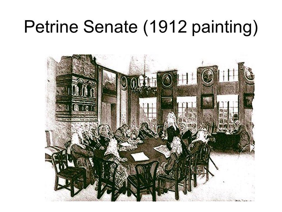 Petrine Senate (1912 painting)