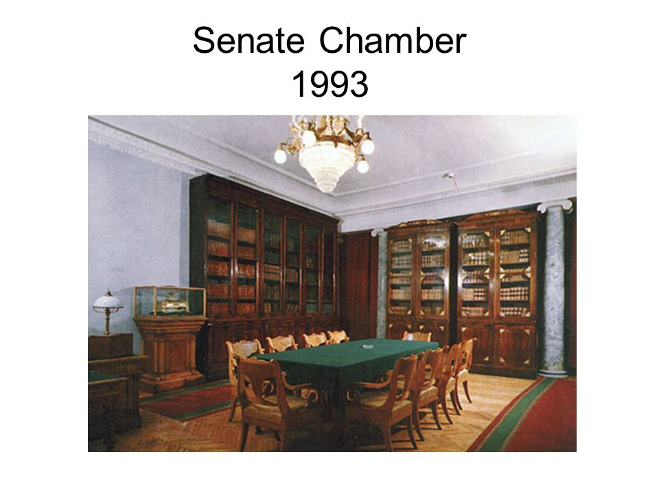 Senate Chamber 1993