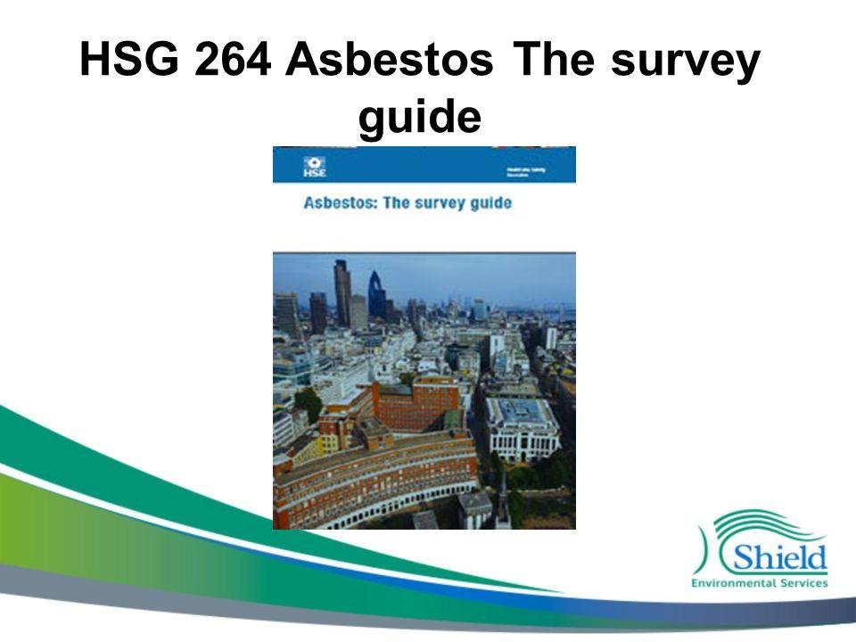 HSG 264 Asbestos The survey guide