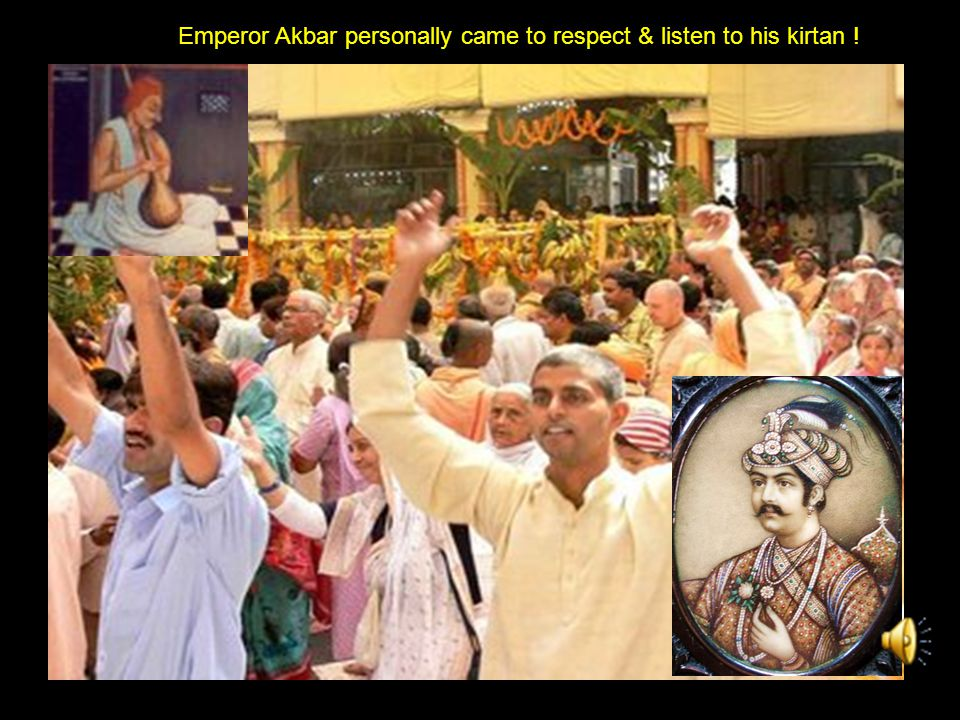 Saint Sur Das Akbar came to know about Surdas Tansen recommended Job as royal singer in palace.