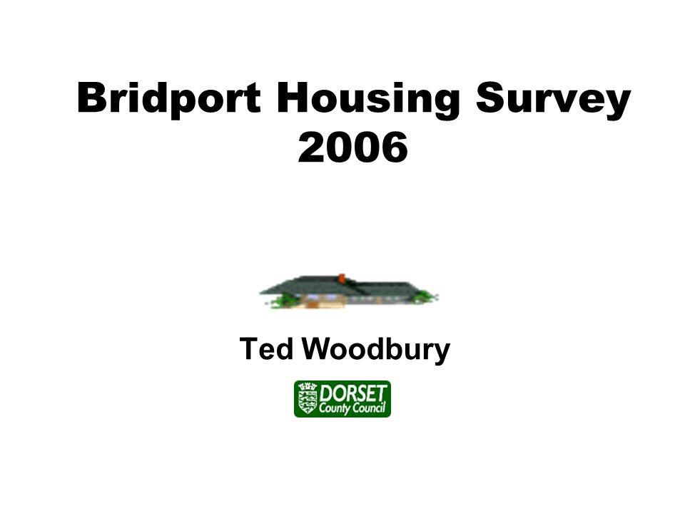 Bridport Housing Survey 2006 Ted Woodbury