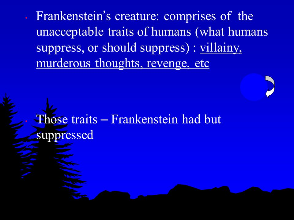William Elizabeth - physically like his mother and had a history like that of his mother - Frankenstein ' s mother took care of her, but then sickened and died P828 Frankenstein ' s Oedipus Complex