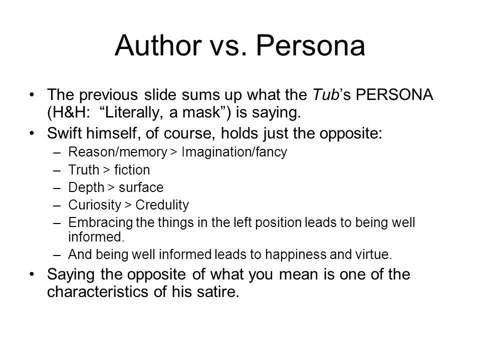 Author vs.