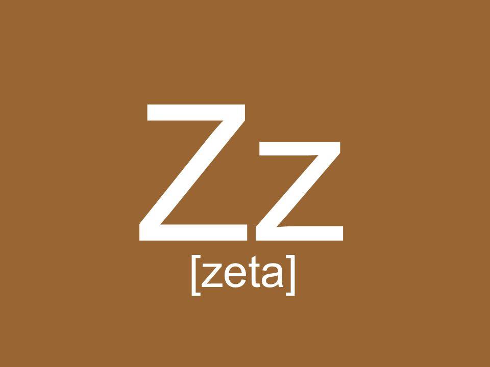 Zz [zeta]