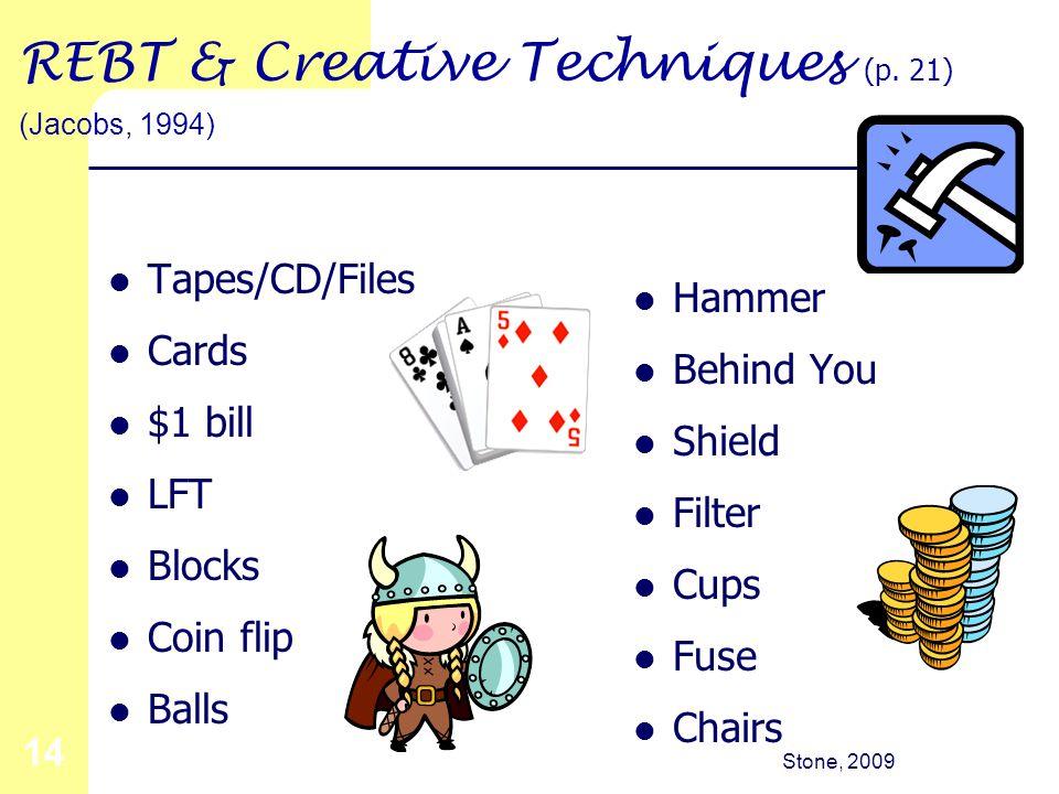 Stone, 2009 14 REBT & Creative Techniques (p.