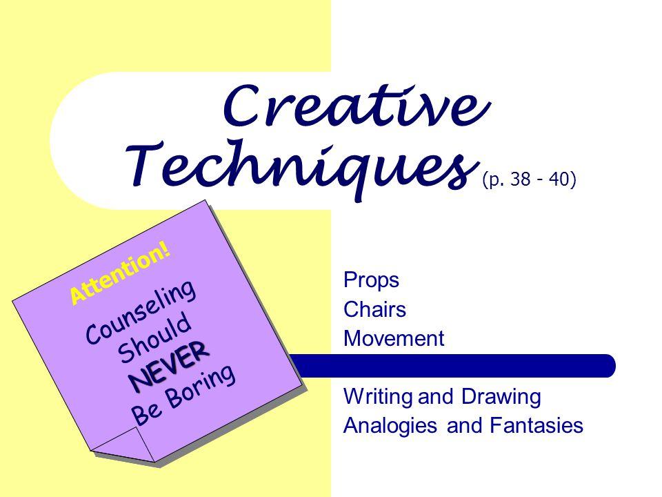 Creative Techniques (p.