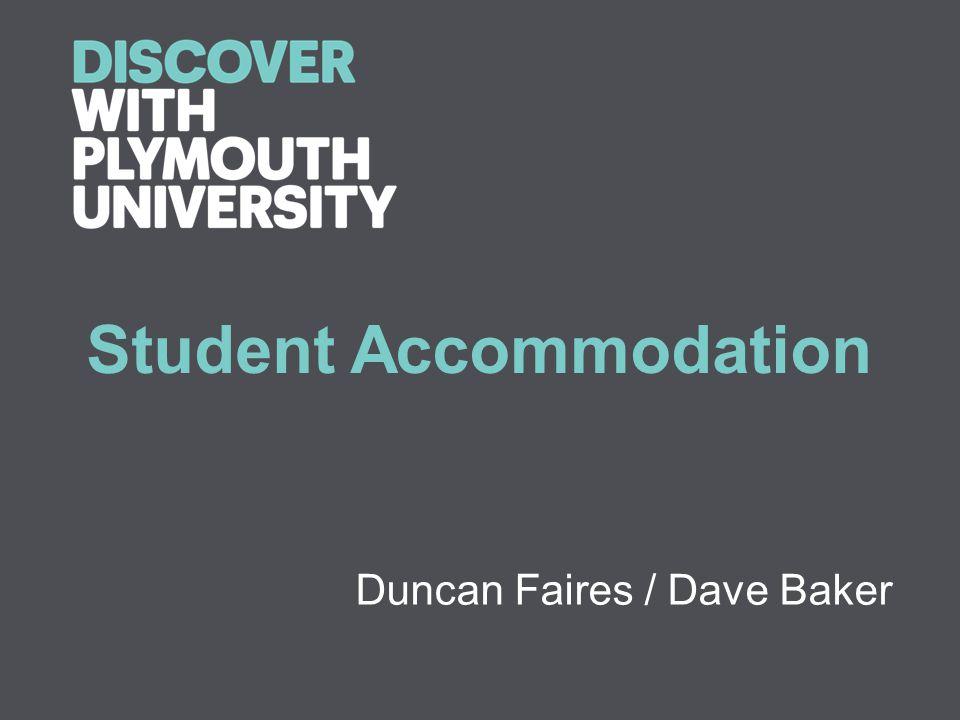 Student Accommodation Duncan Faires / Dave Baker