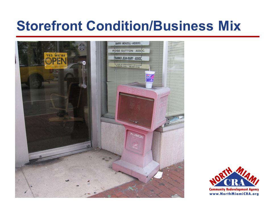Storefront Condition/Business Mix