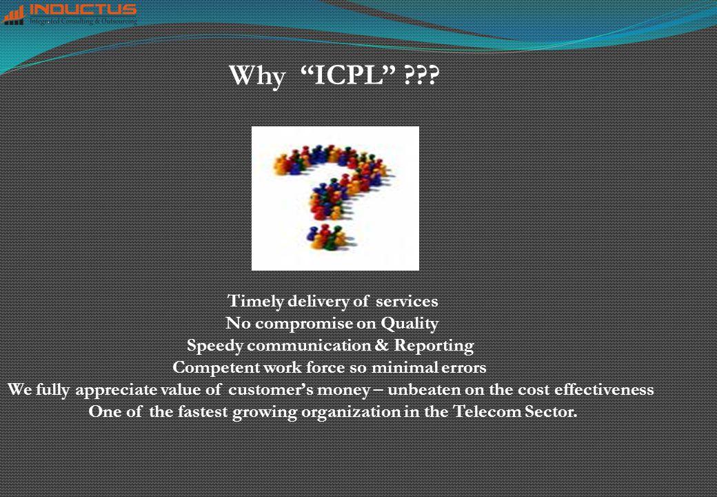 Why ICPL ??.