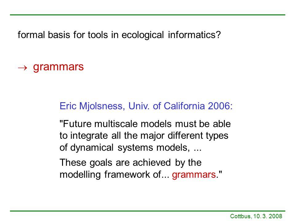Eric Mjolsness, Univ.