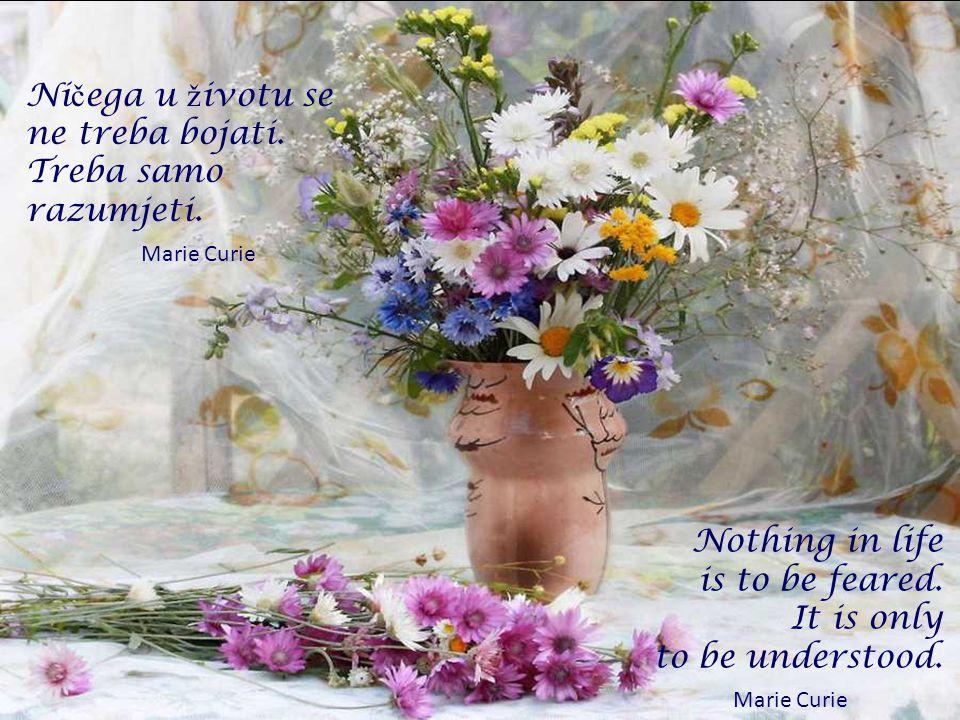 Naše ž ivote ne oblikuje toliko naše iskustvo, koliko naša o č ekivanja. George Bernard Shaw Our life is what our thoughts make it. Marcus Aurelius