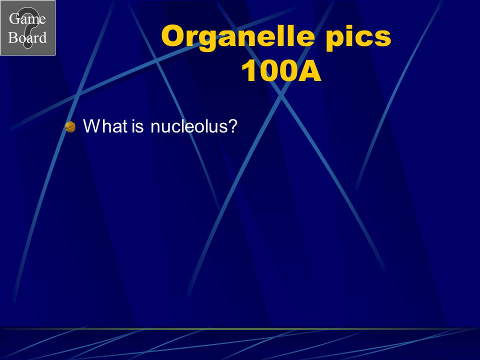 Game Board Organell pics 100 Answer