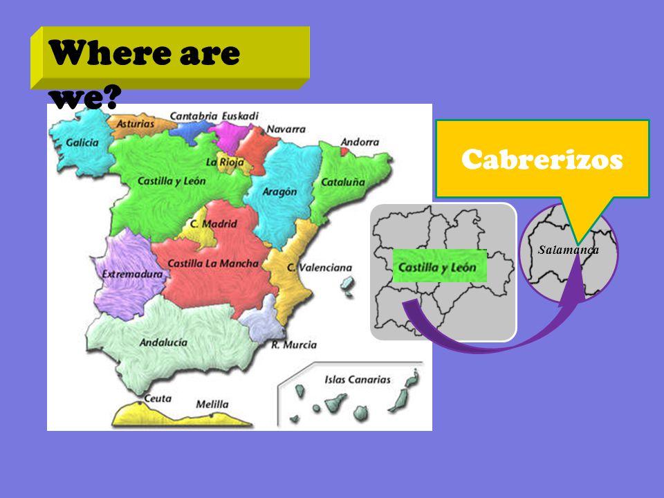 Where are we? Cabrerizos Salamanca
