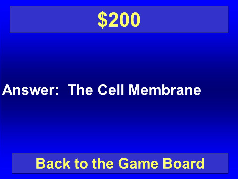 Question: What holds the cell together and separates it from its surroundings.