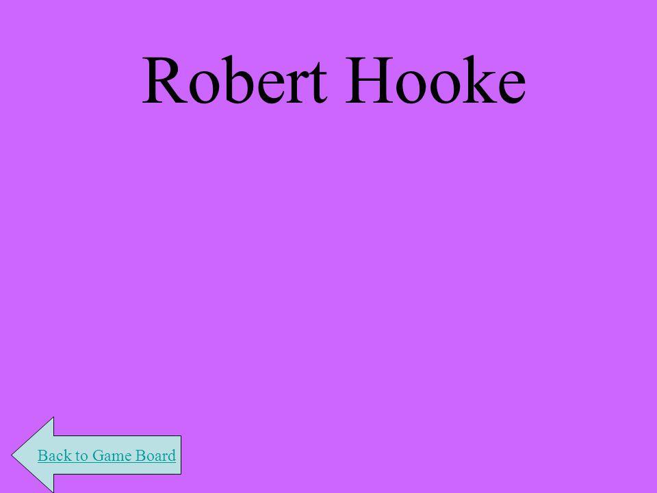 Robert Hooke Back to Game Board