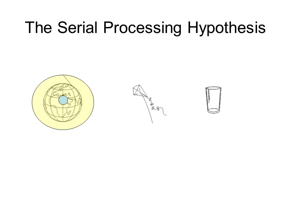 The Serial Processing Hypothesis