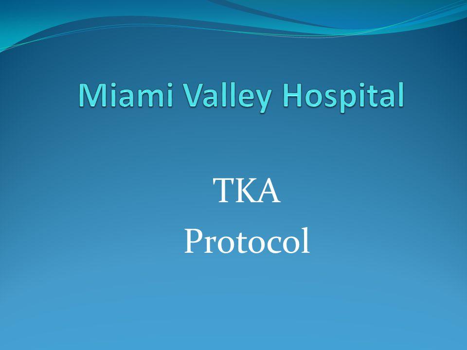 TKA Protocol