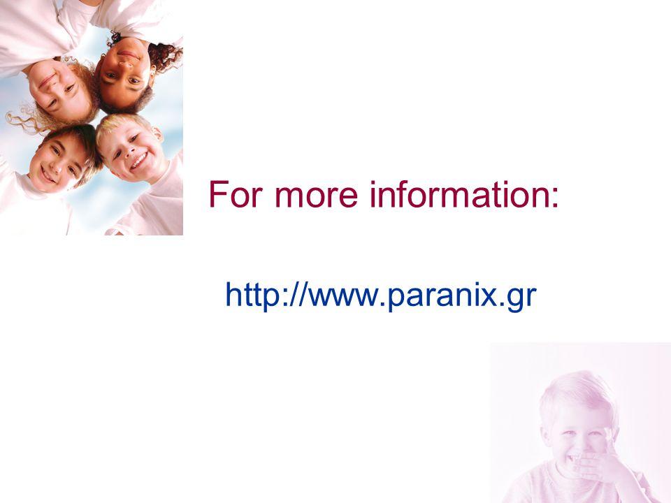 24 For more information: http://www.paranix.gr