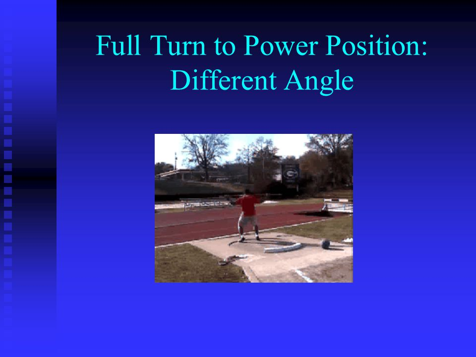 Full Turn to Power Position: Different Angle