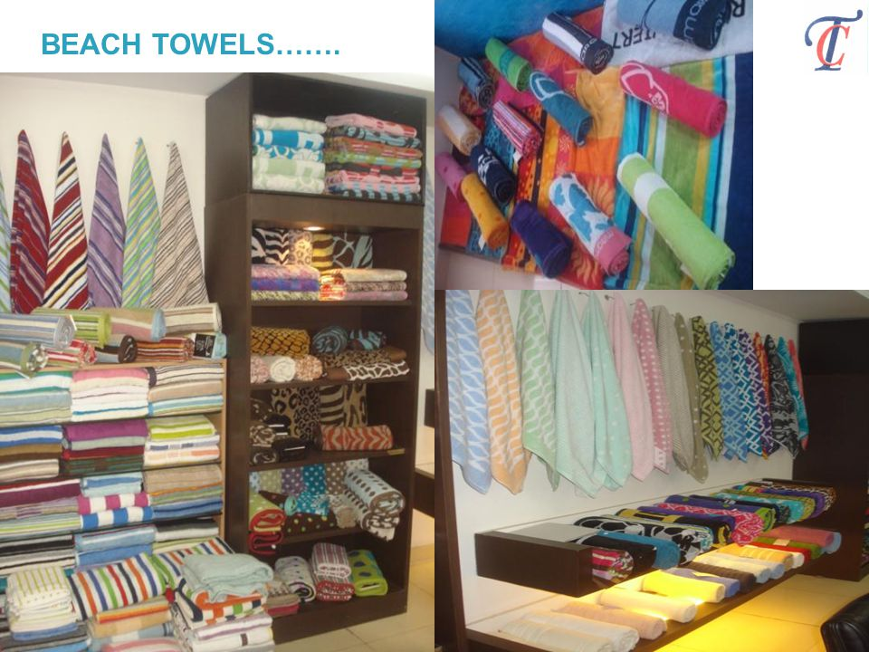 BEACH TOWELS…….