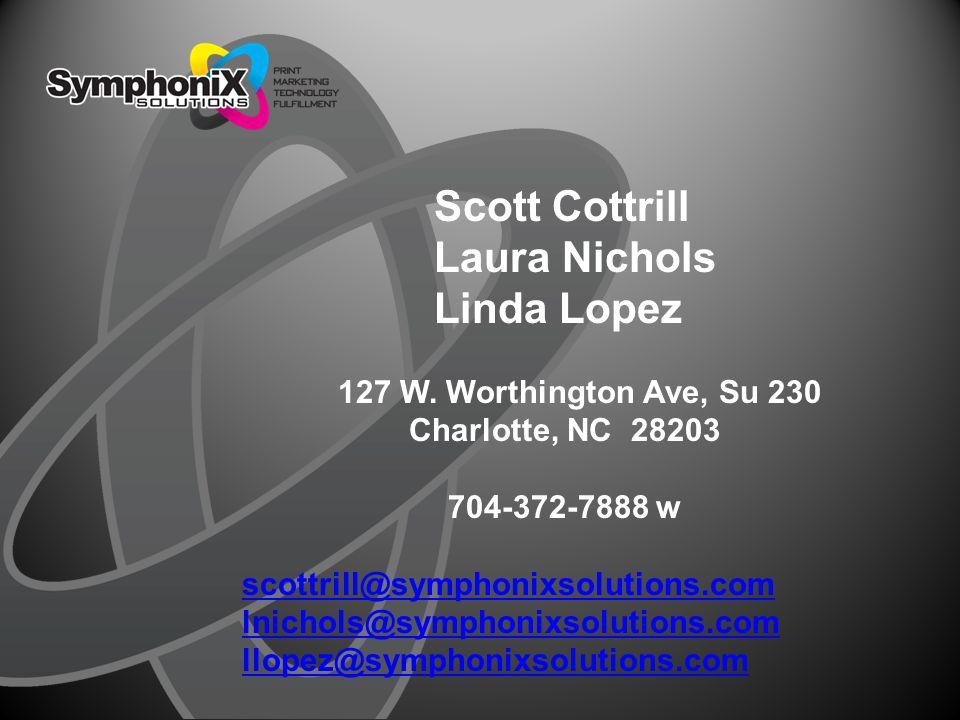 Scott Cottrill Laura Nichols Linda Lopez 127 W.
