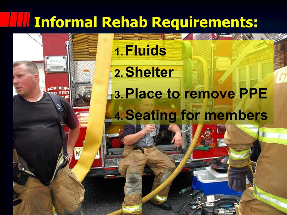 What about informal rehab.