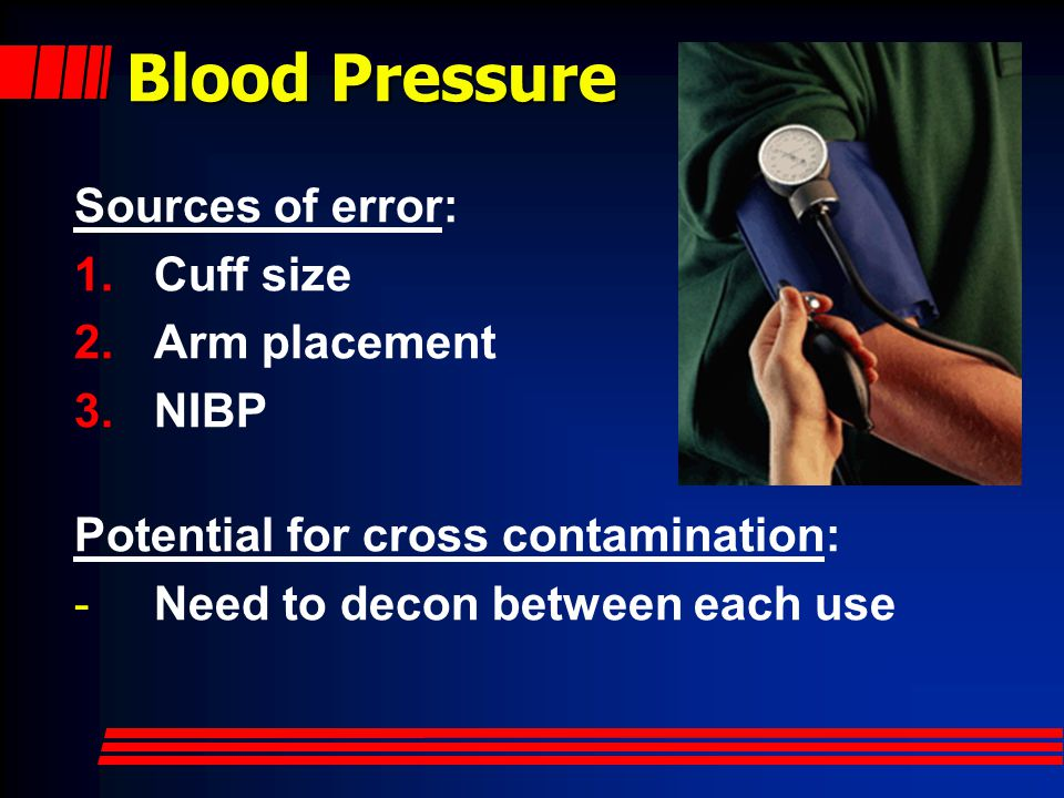 Blood Pressure Most measured Least understood Very contextual Tremendous potential for error