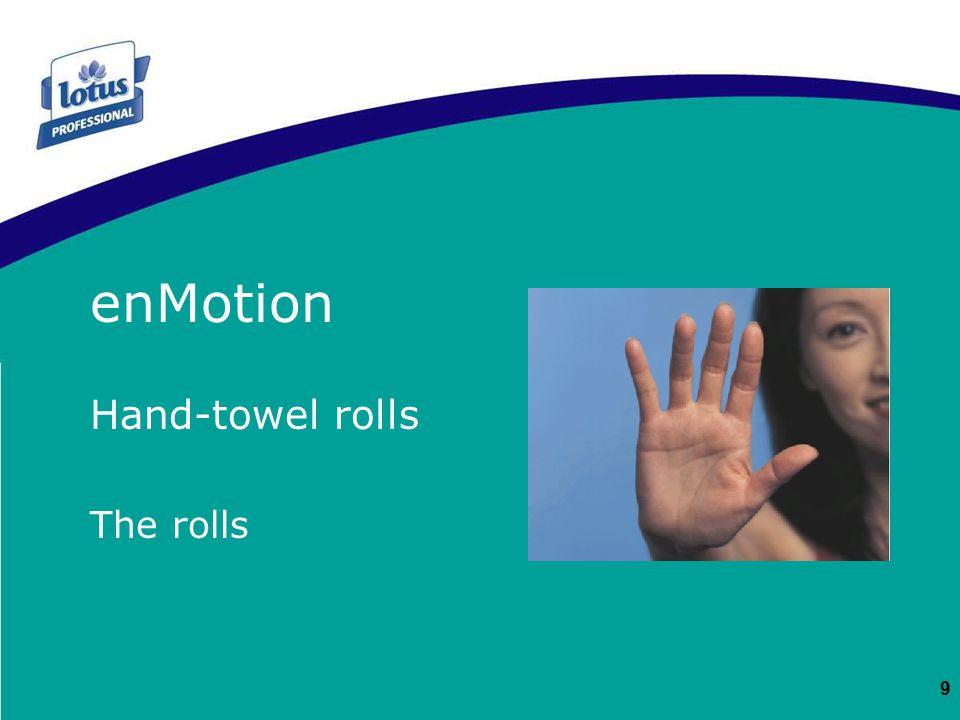 9 Hand-towel rolls The rolls enMotion EM ROULEAUX ENMOTION