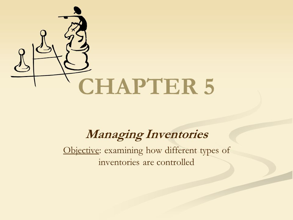 Types of Inventories Recycled inventories are those items that have limited useful lives but that are used over and over again in housekeeping operations.