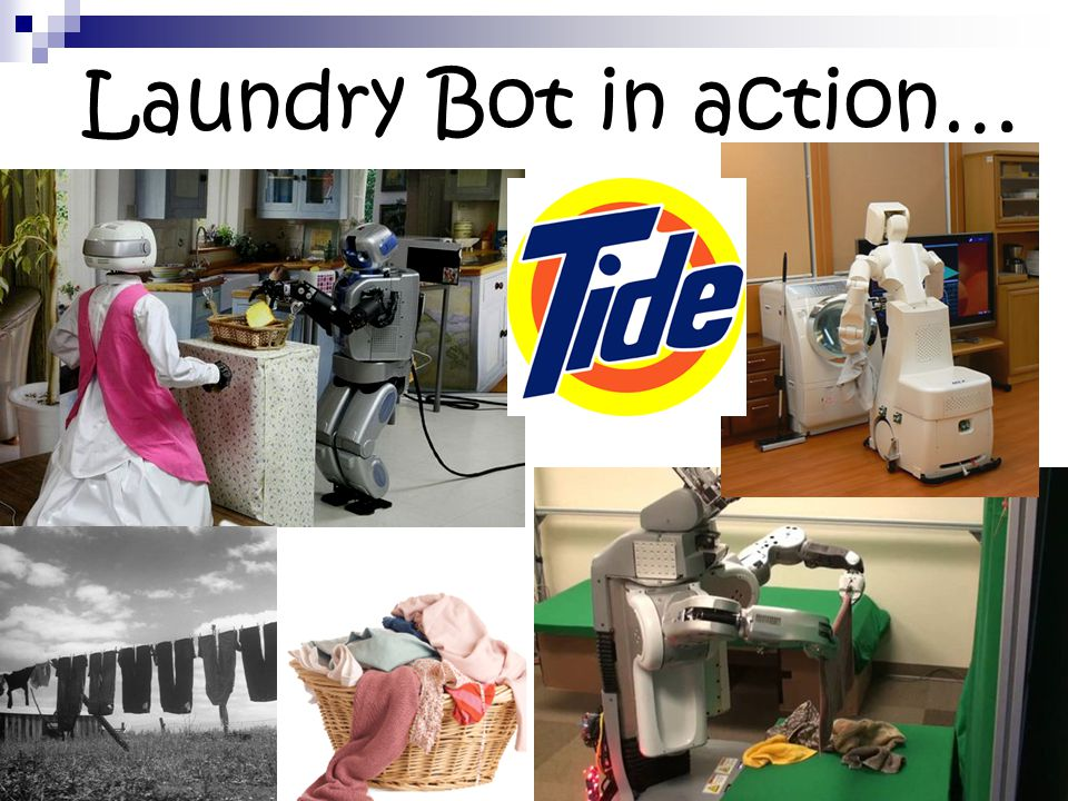 Laundry Bot in action…