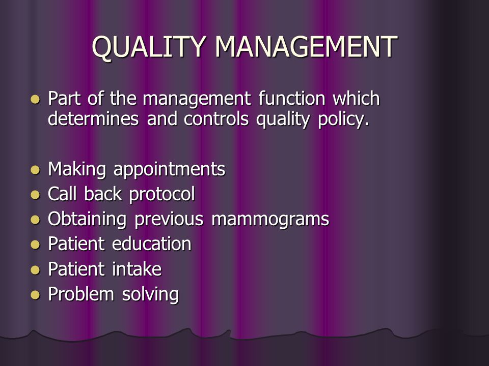 QUALITY ASSURANCE Defined as all those planned and systematic actions necessary to provide high image quality. Defined as all those planned and system