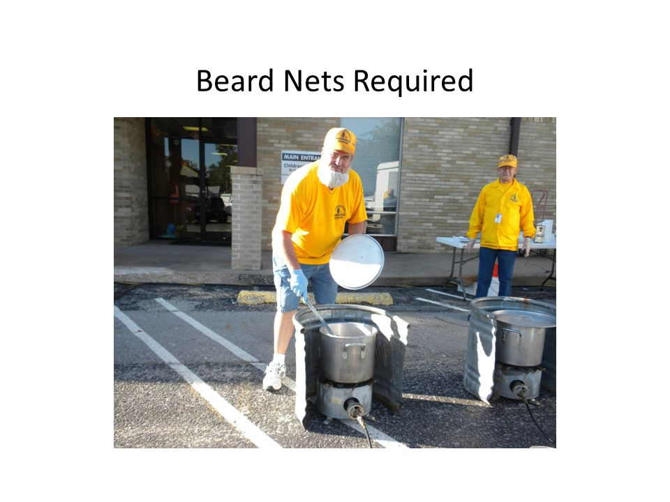 Beard Nets Required