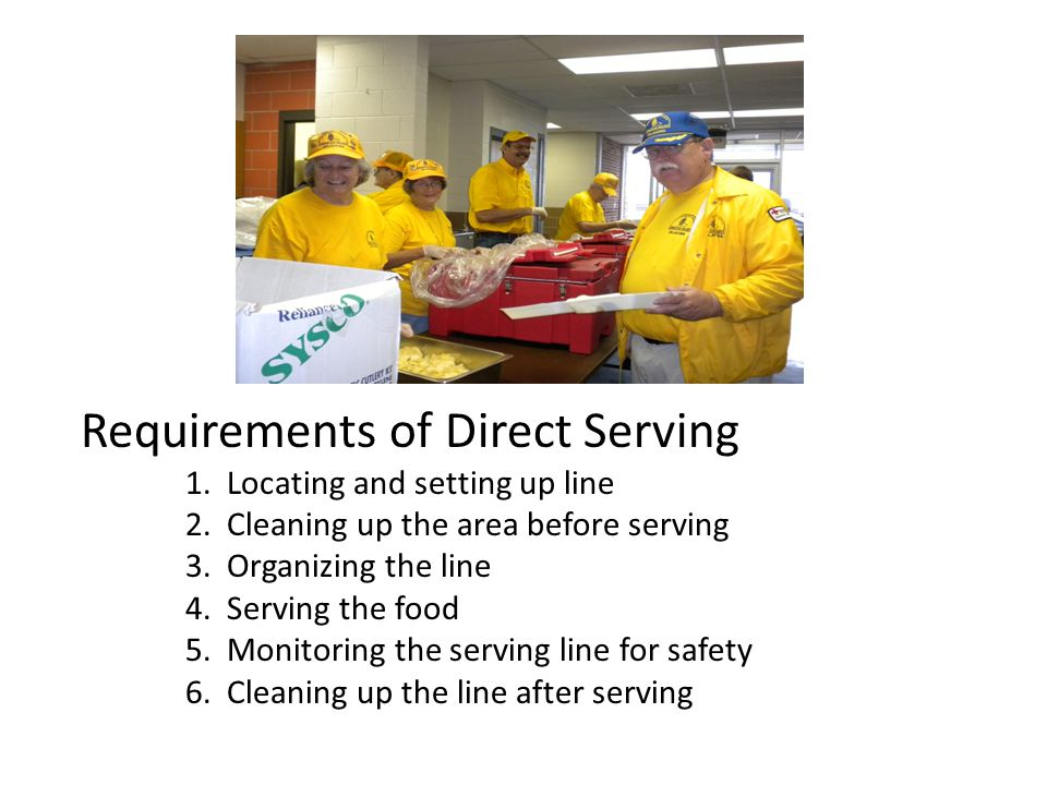 Requirements of Direct Serving 1. Locating and setting up line 2.