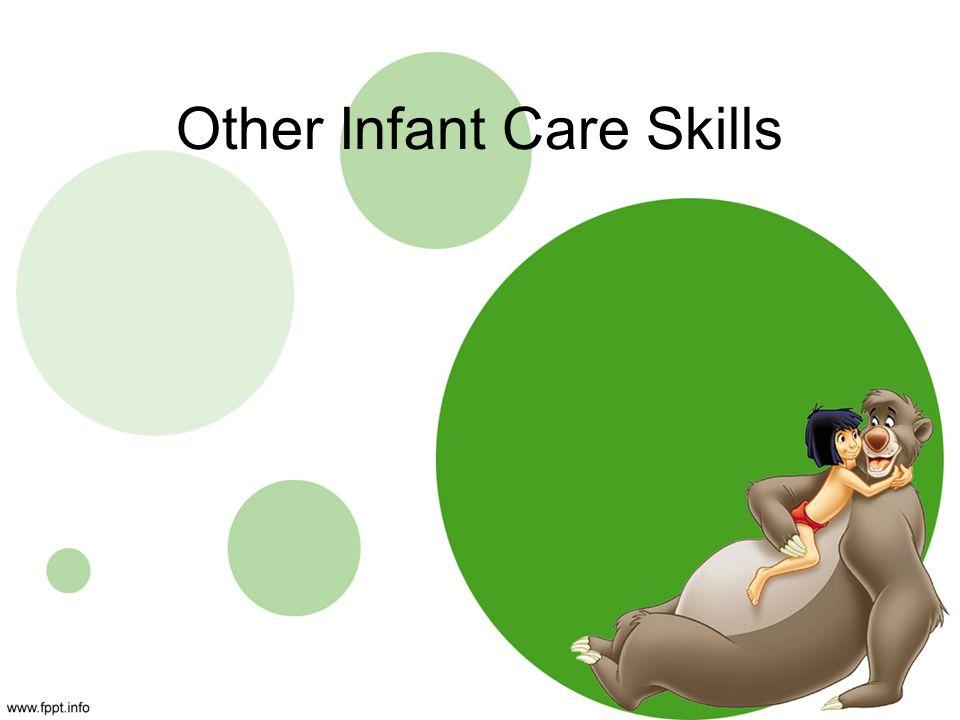 Other Infant Care Skills