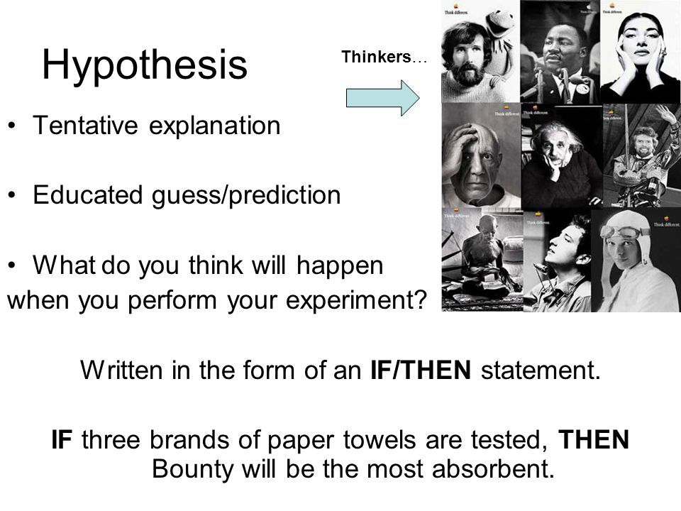 Experiment An organized procedure used to study something under controlled conditions.
