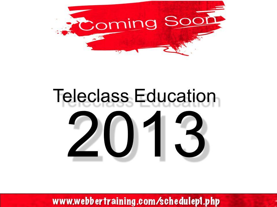 Teleclass Education 2013