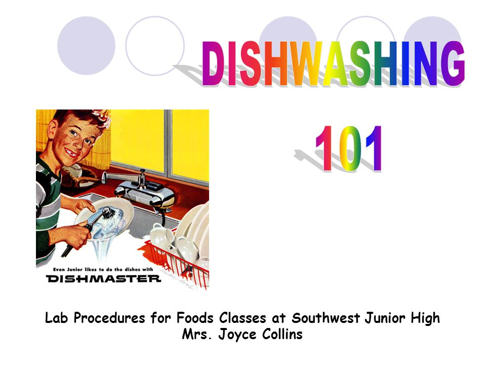 DISHWASHING DOZEN 1.Scrape food from dishes.2.Stack dishes on one side of the sink.