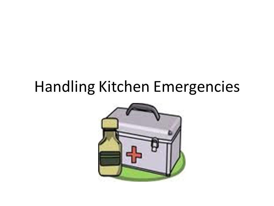 Handling Kitchen Emergencies