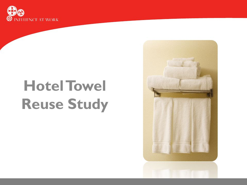 Hotel Towel Reuse Study