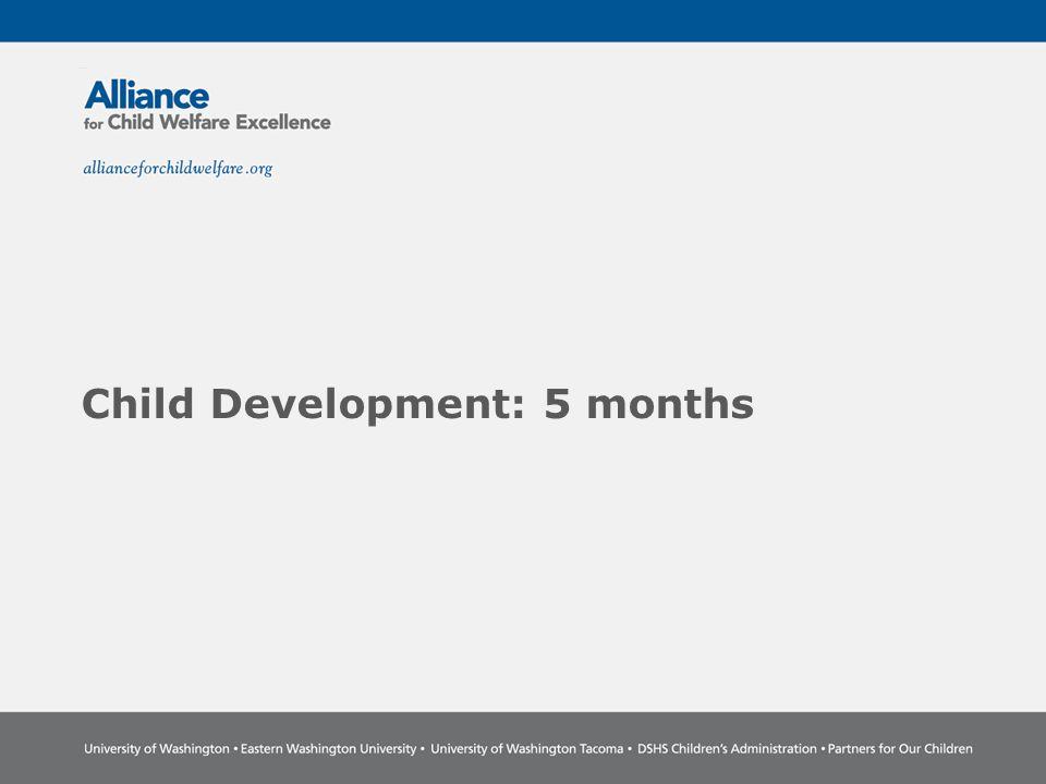 Child Development: 5 months