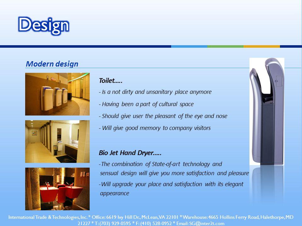 Modern design Toilet.....