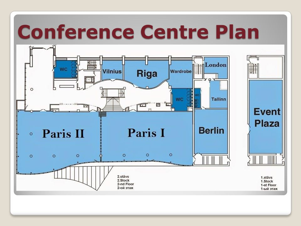 Conference Centre Plan
