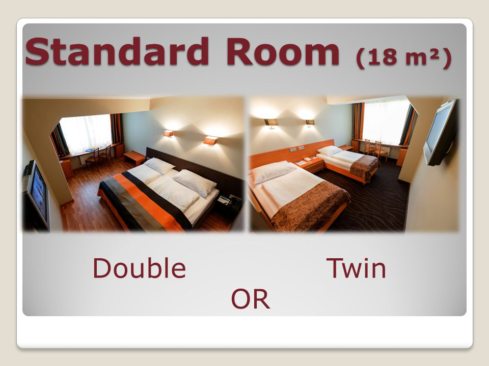 Standard Room (18m²) Bathtub OR Walk-in shower