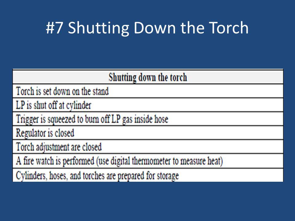#7 Shutting Down the Torch