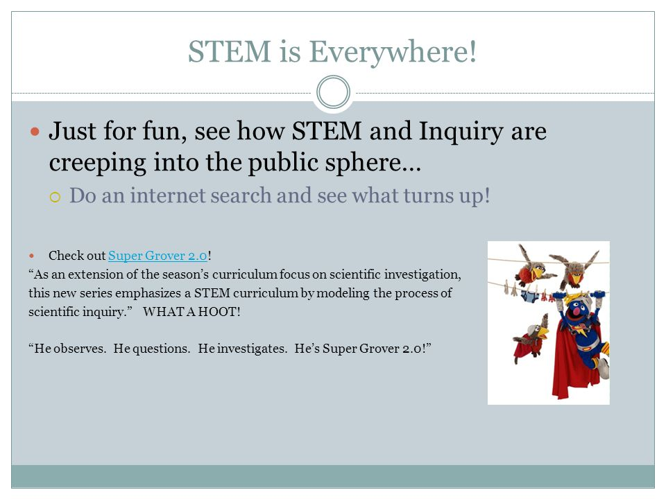 STEM is Everywhere.