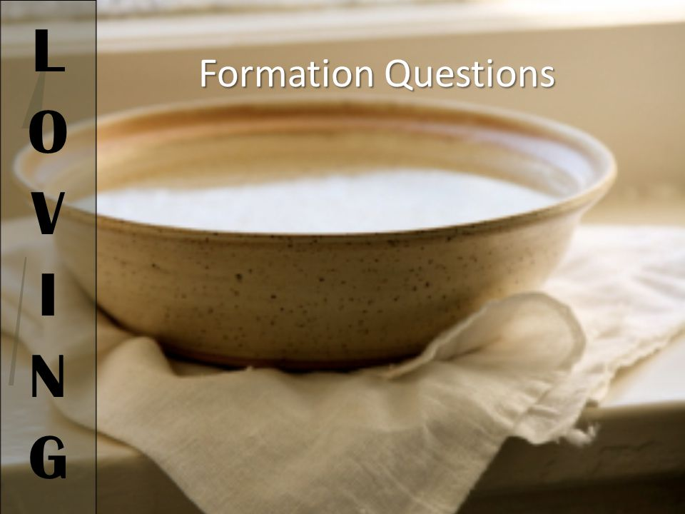 Formation Questions