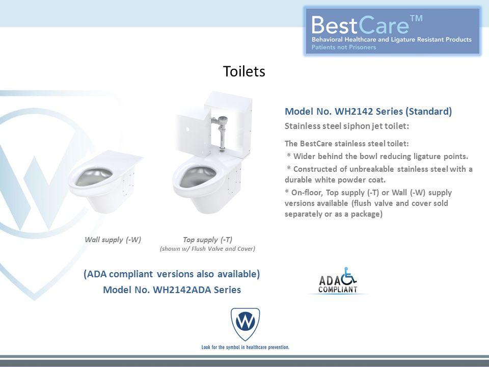 Toilets Model No.