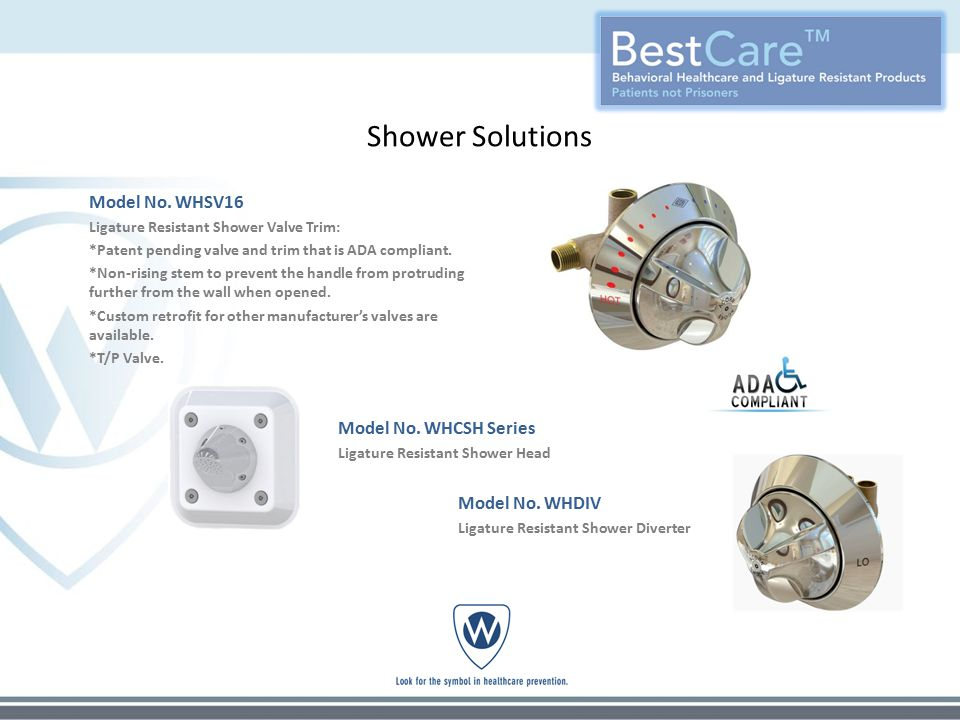 Shower Solutions Model No.